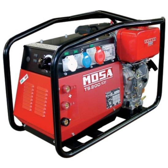 Дизельный генератор Mosa Ts 200 ds/cf