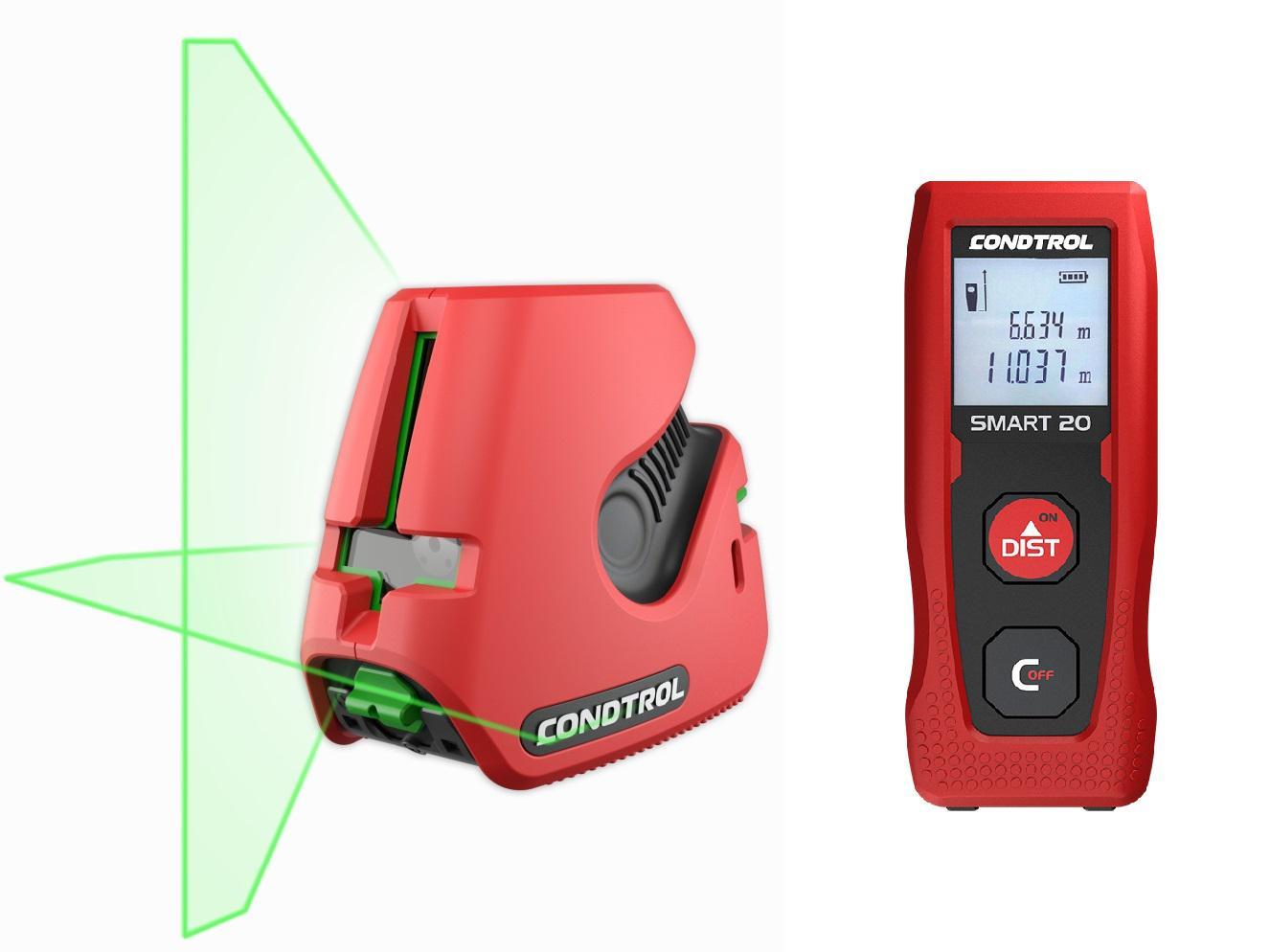 Набор Condtrol Уровень neo g220 set +Дальномер smart 20