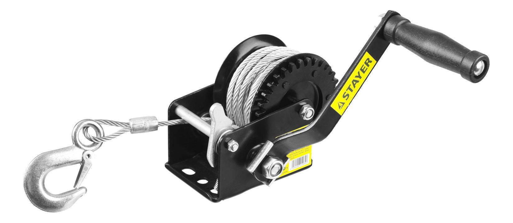 Лебедка механическая Stayer master 43112-0.5