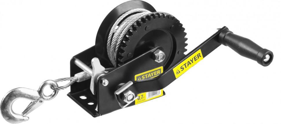 Лебедка механическая Stayer master 43112-0.7