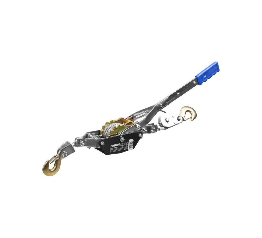 Лебедка механическая СИБИН 43125-4