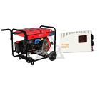 Набор FUBAG Бензиновый генератор DS 5500 A ES +Стабилизатор напряжения УСН 2000 НС