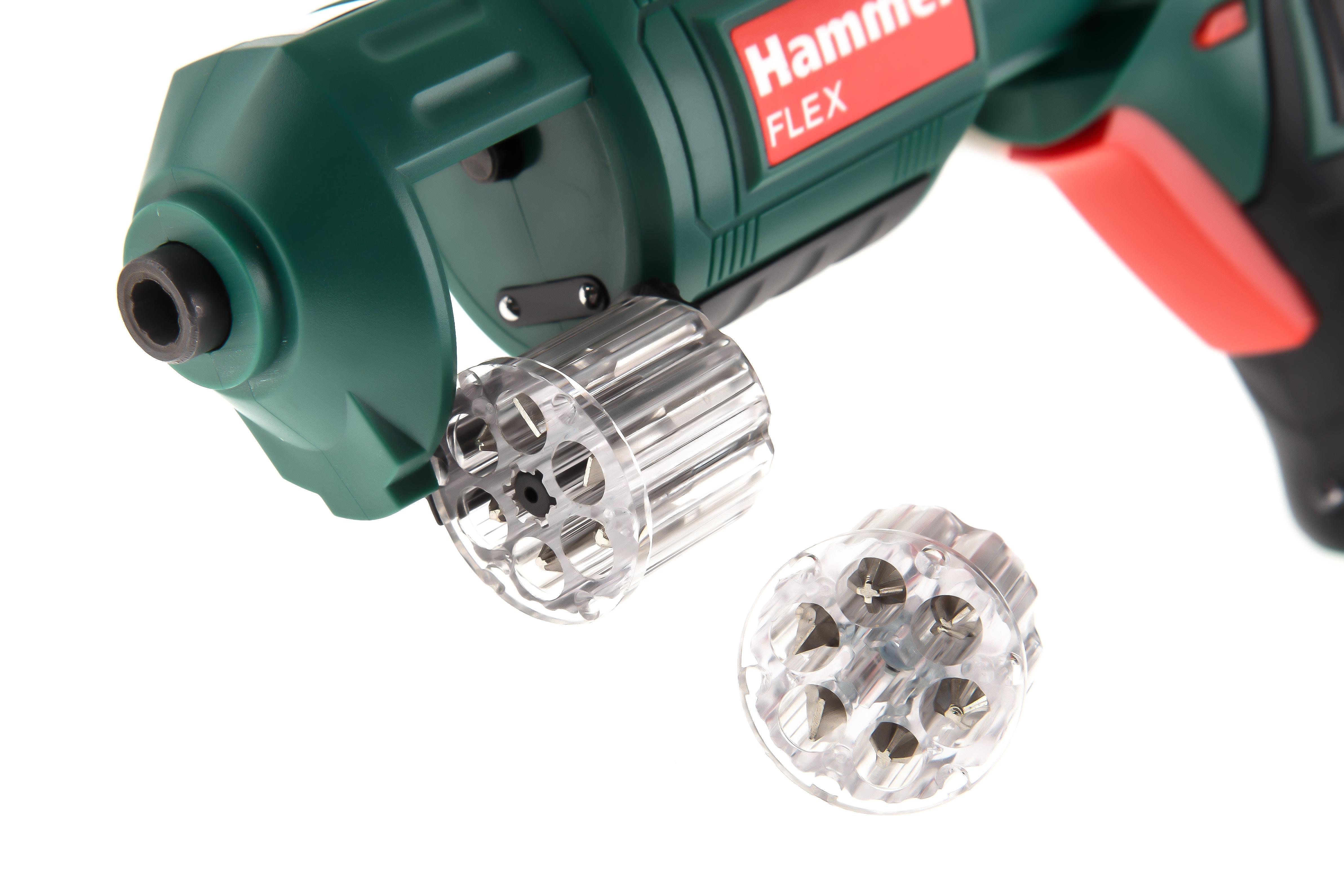 Отвертка аккумуляторная Hammer Acd3.6r