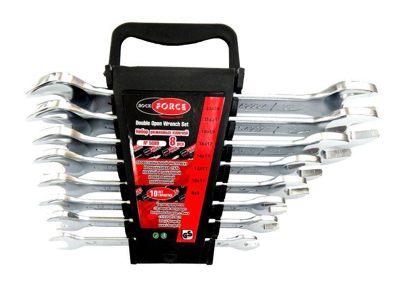 Набор ключей Rock force Rf-5089 force 5121 набор комбинированных ключей 8 23 мм