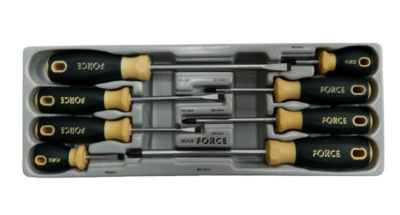 Набор отверток Rock force Rf-2084 набор отверток 8 предметов центроинструмент 0558