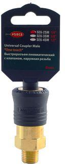 Быстроразъем Rock force Rf-se6-2sm домкрат rock force rf th22501cb 2 5т