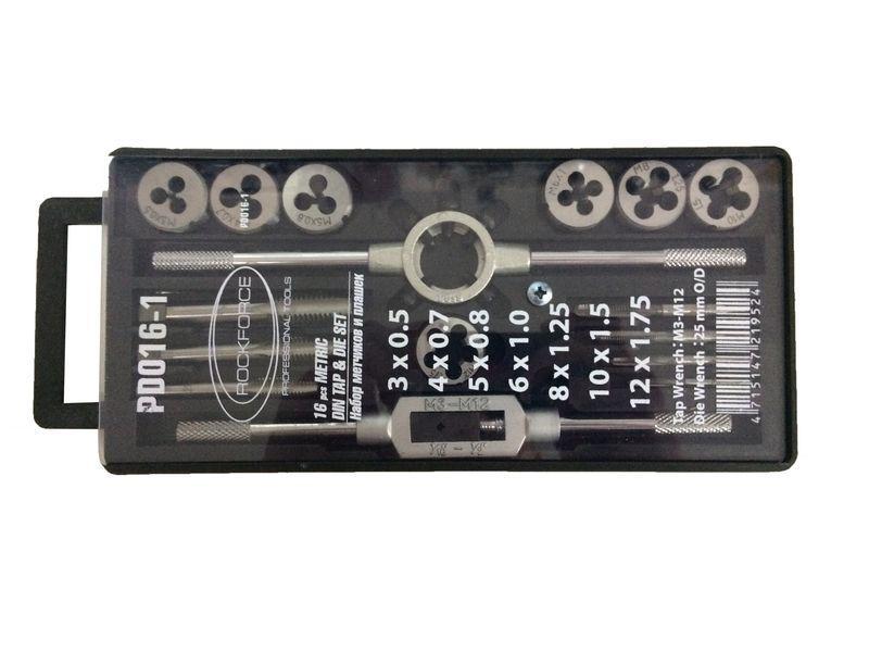 Купить Набор метчиков и плашек Rock force Rf-pd016-1