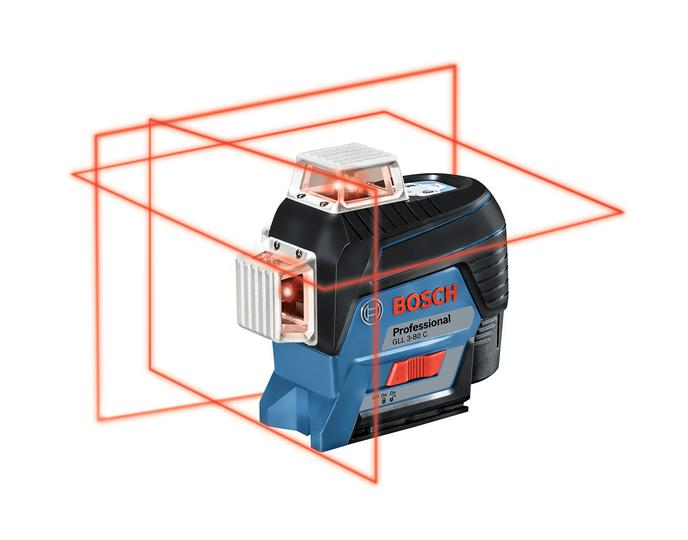 цена Уровень Bosch Gll 3-80c (0.601.063.r00)