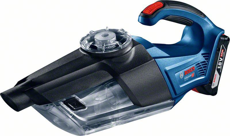 Аккумуляторный пылесос Bosch Gas 18v-1 solo (0.601.9c6.200) набор bosch гайковерт аккумуляторный gdr 18 v li 4 0ач 0 601 9a1 30e адаптер gaa 18v 24