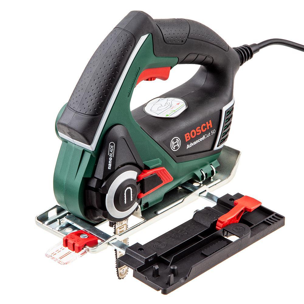 Пила цепная Bosch Advancedcut 50 (0.603.3c8.120) электрическая цепная пила bosch advancedcut 18 set дл шин 10 25cm