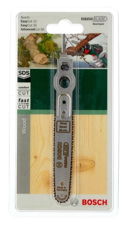 Полотно пильное Bosch Nanoblade wood basic 50 (2.609.256.d83) электроотвертка bosch ixo v basic 06039a8020