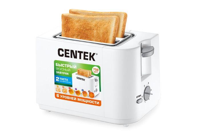 Тостер Centek Ct-1425w