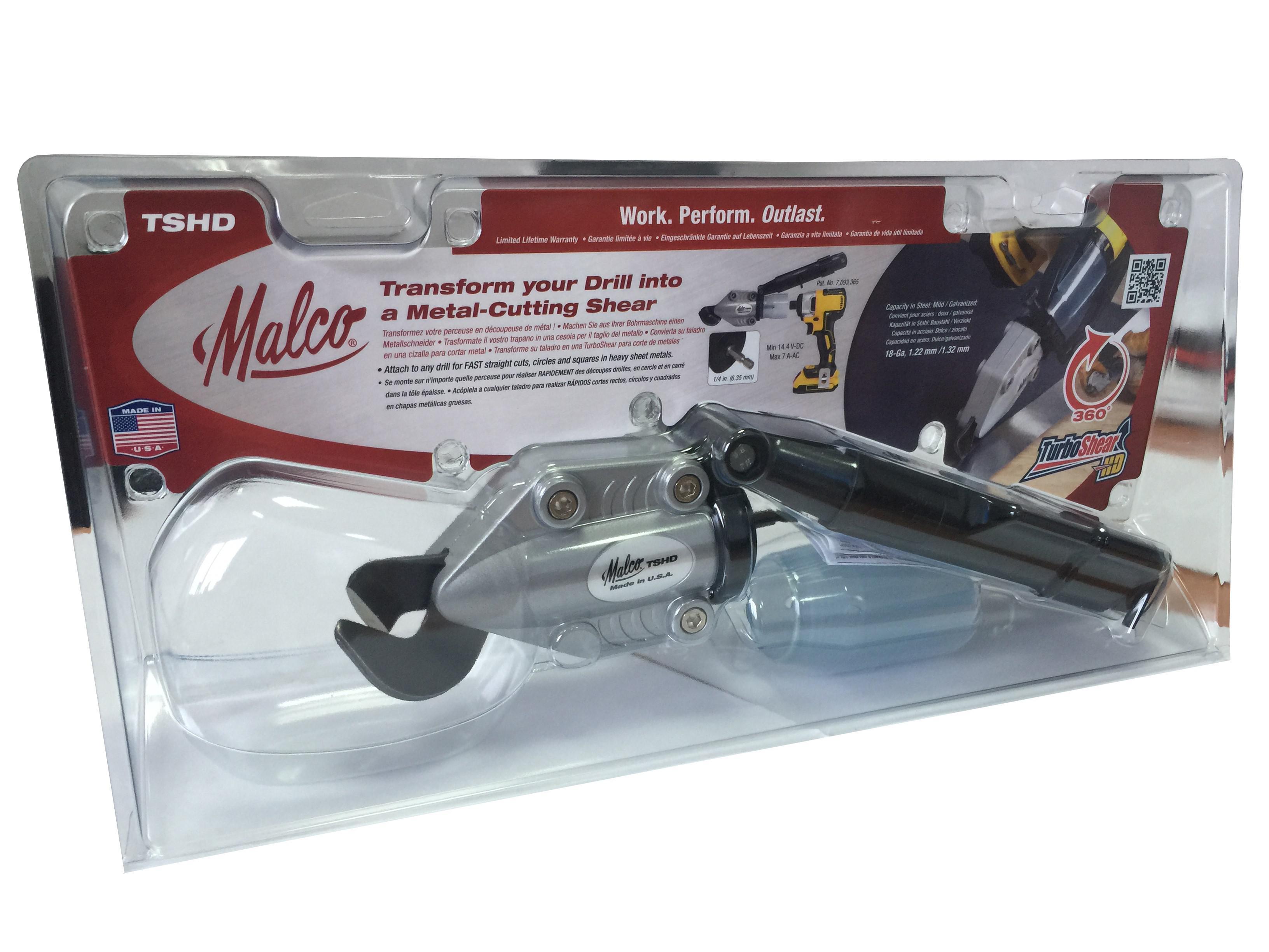 Насадка Malco Tshd ev усиленные двурычажные ножницы по металлу бульдог malco m2005 ev