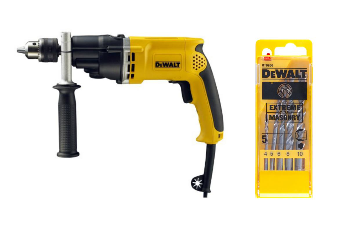 Дрель ударная Dewalt D21805 +Набор сверл dt6956qz дрель ударная dewalt d21805