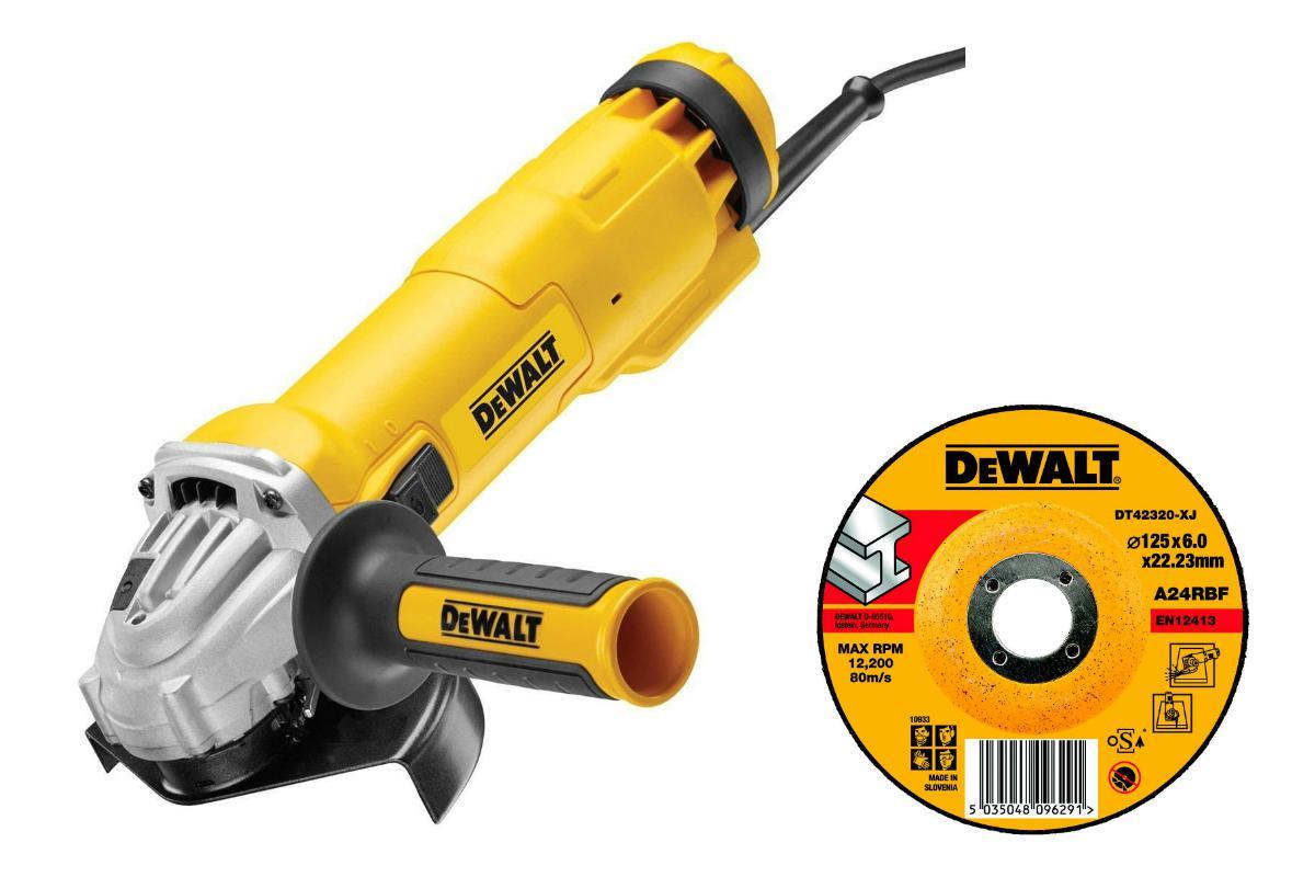 УШМ Dewalt Dwe4227qs +Круг зачистной dt42320xj мультитул реноватор dewalt dwe 315 kt