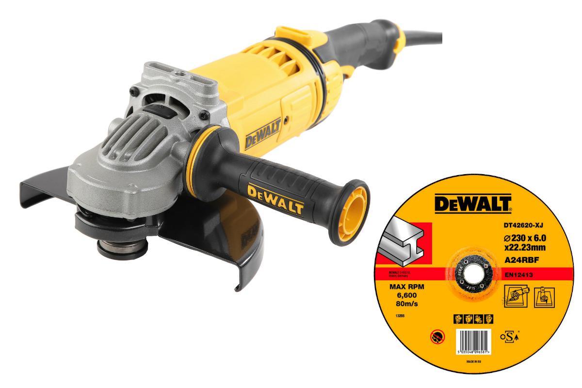 УШМ Dewalt Dwe4559 +Круг зачистной dt42620xj мультитул реноватор dewalt dwe 315 kt