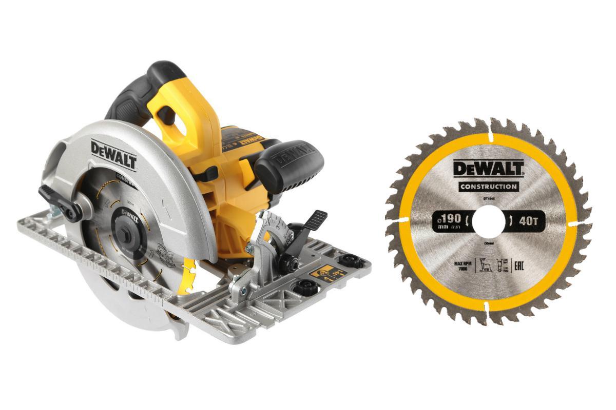 Пила циркулярная Dewalt Dwe576К +Диск пильный твердосплавный dt1945qz диск k