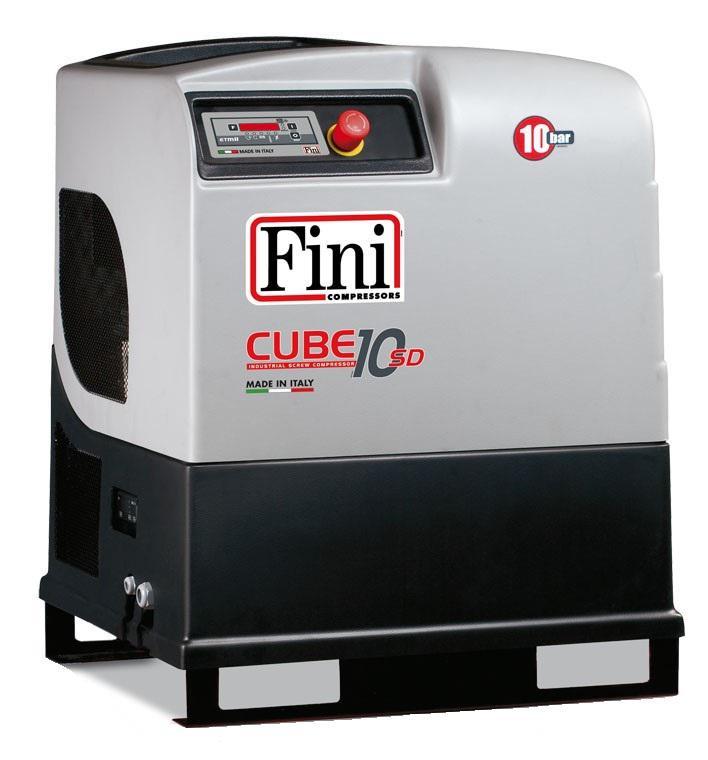 Компрессор Fini Cube sd 1010 купить винтовой ротационный компрессор красноярск
