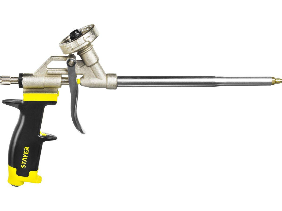 Пистолет для монтажной пены Stayer Professional progun 06861_z01 цена