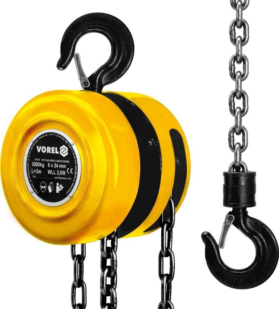 Таль механическая Vorel 80753 ключ торцевой vorel l типа 17мм