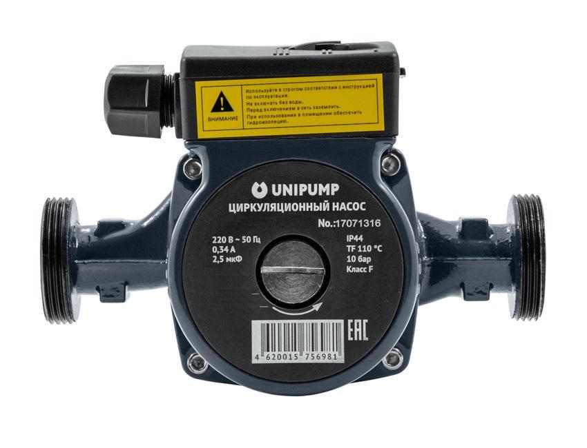 Циркуляционный насос Unipump Cp 25-40 180 насос unipump акваробот jet 100 l г а 2л 45190