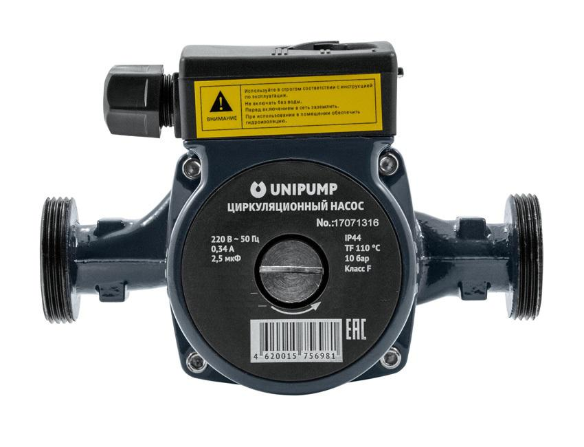 Циркуляционный насос Unipump Cp 25-80 180 садовый насос unipump jet40s
