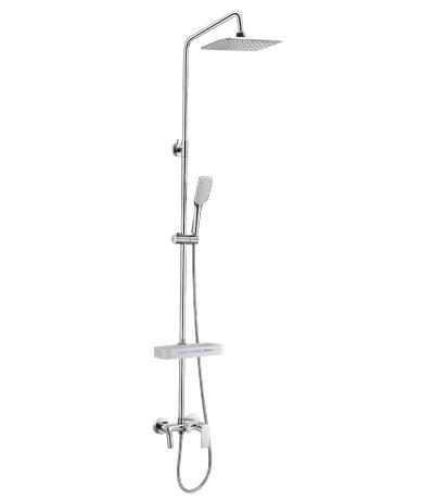 Смеситель Lemark Tropic lm7002c душевая система lemark tropic для ванны и душа lm7003c