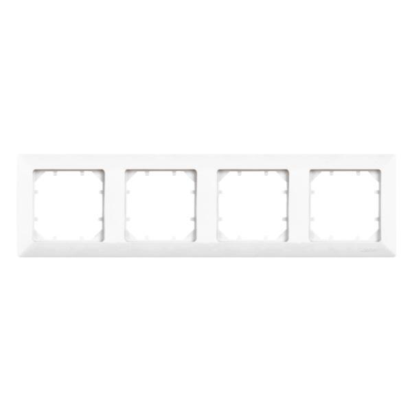 Рамка Zakru Za600161 Белый clasico