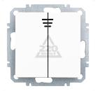Выключатель ZAKRU ZA601298 Белый CLASICO