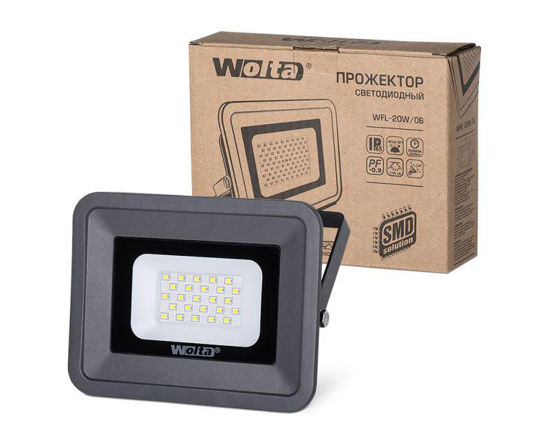 Прожектор Wolta Wfl-20w/06