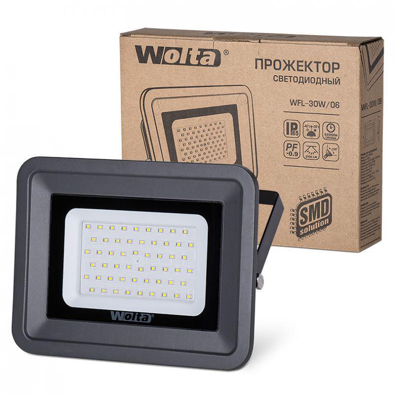 Прожектор Wolta Wfl-30w/06
