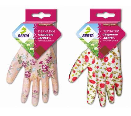 Перчатки садовые БЕРТА 167