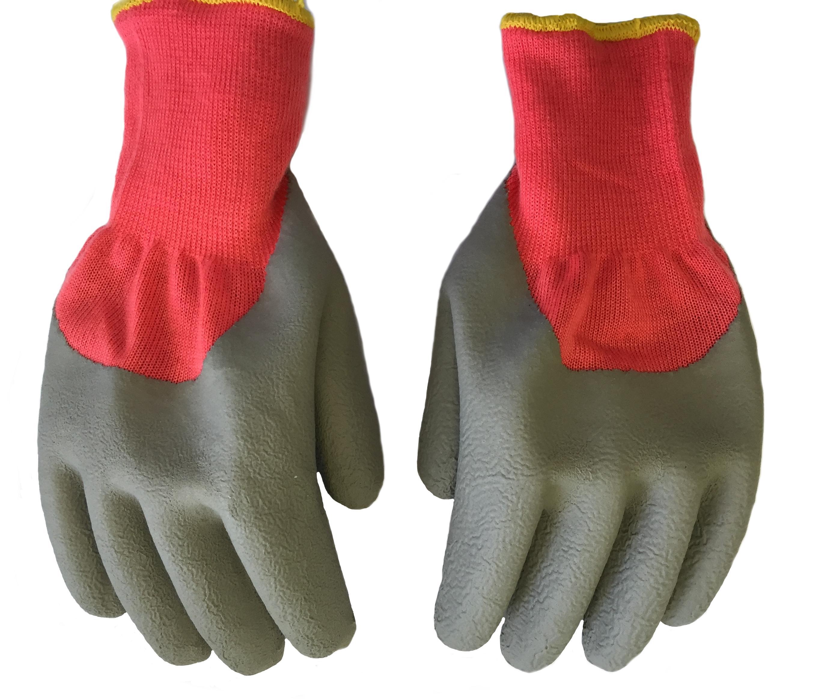 Перчатки БЕРТА 530 перчатки без пальцев шерстяные с рисунком розовые