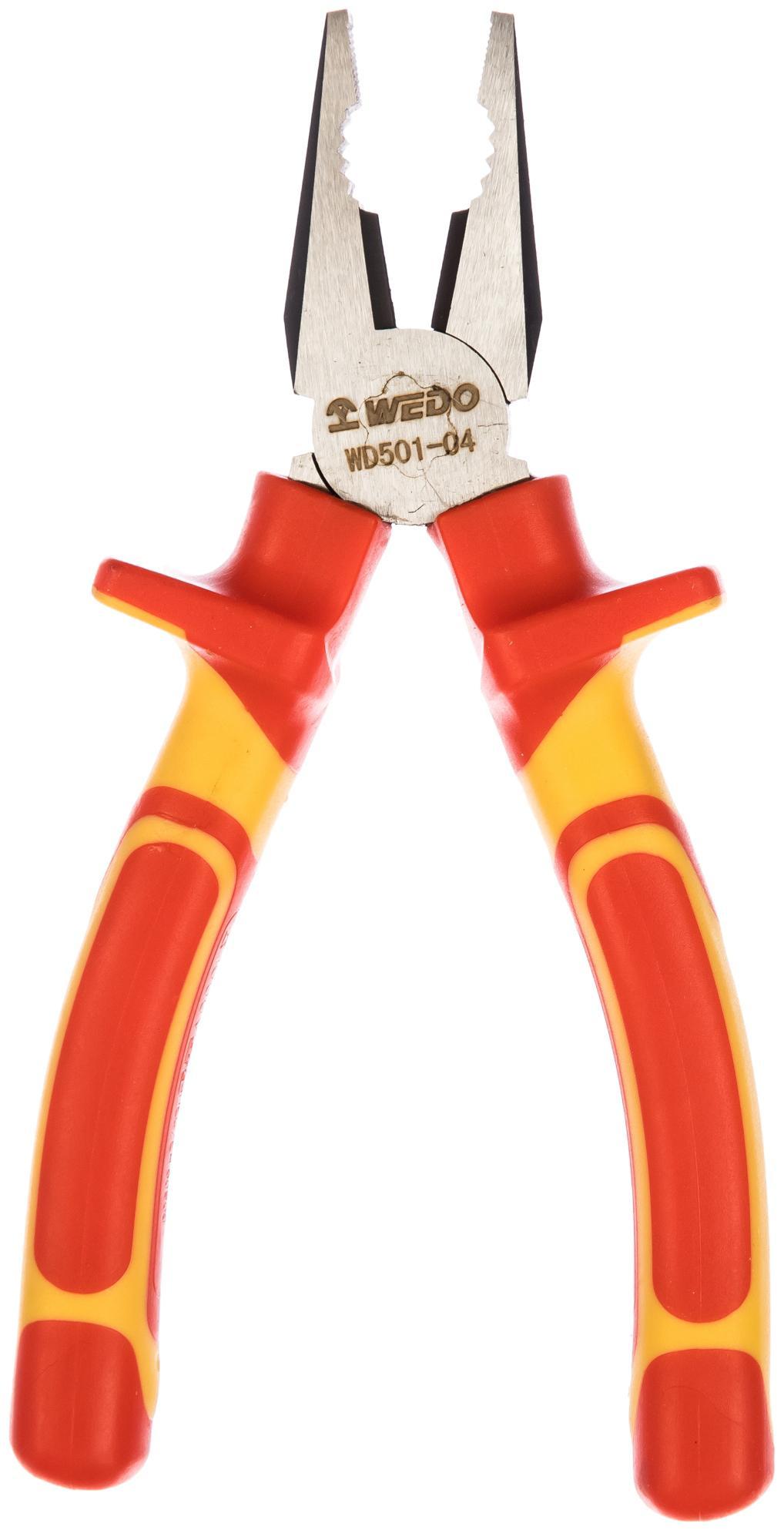 Плоскогубцы Wedo Wd501-04 плоскогубцы диэлектрические truper t200 8x 12350