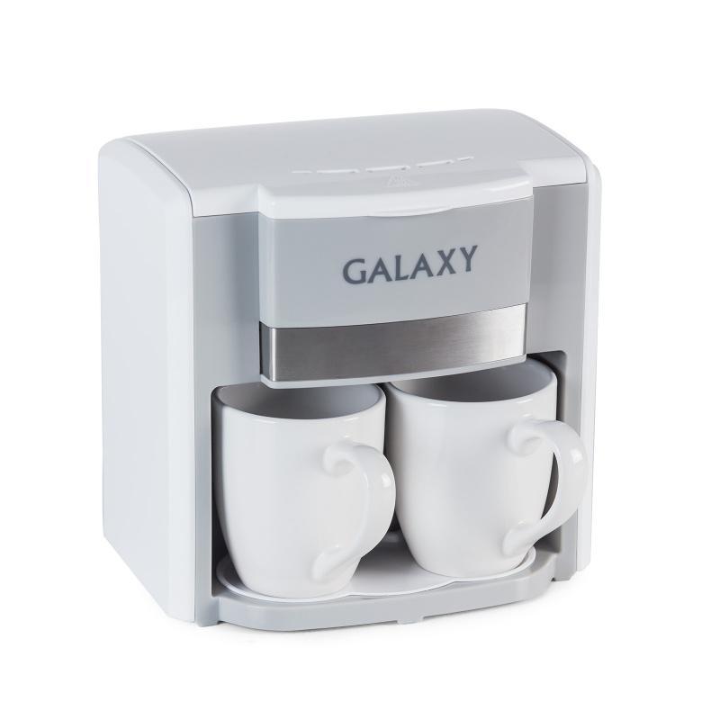 Кофеварка Galaxy Gl 0708 БЕЛАЯ