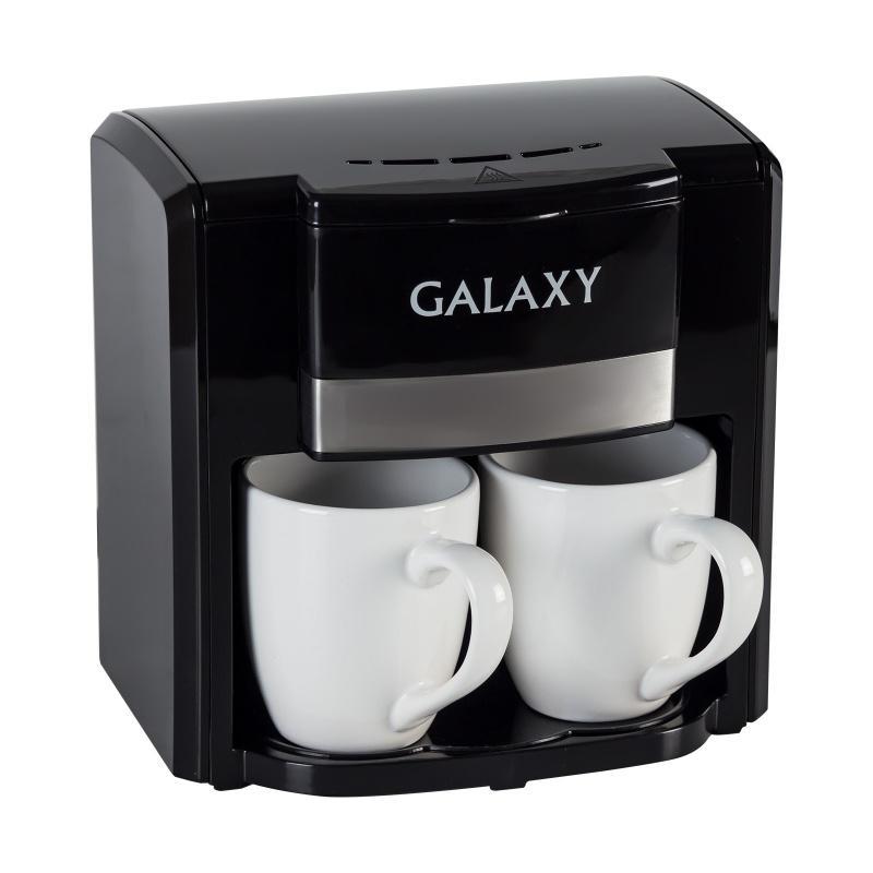 Кофеварка Galaxy Gl 0708 ЧЕРНАЯ