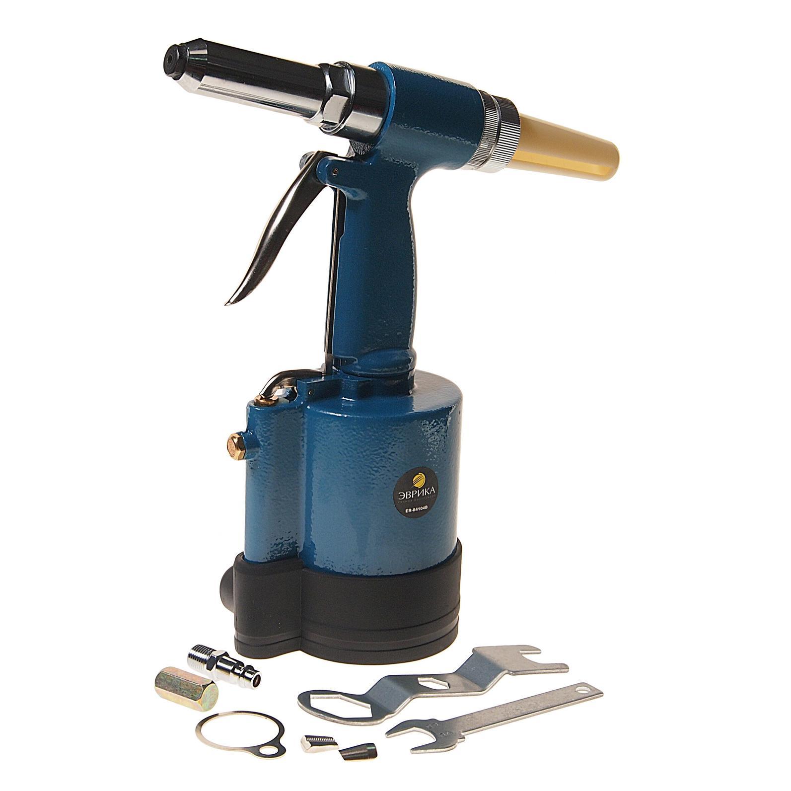 Заклепочник пневматический ЭВРИКА Er-84104b набор инструмента эврика er tk4010