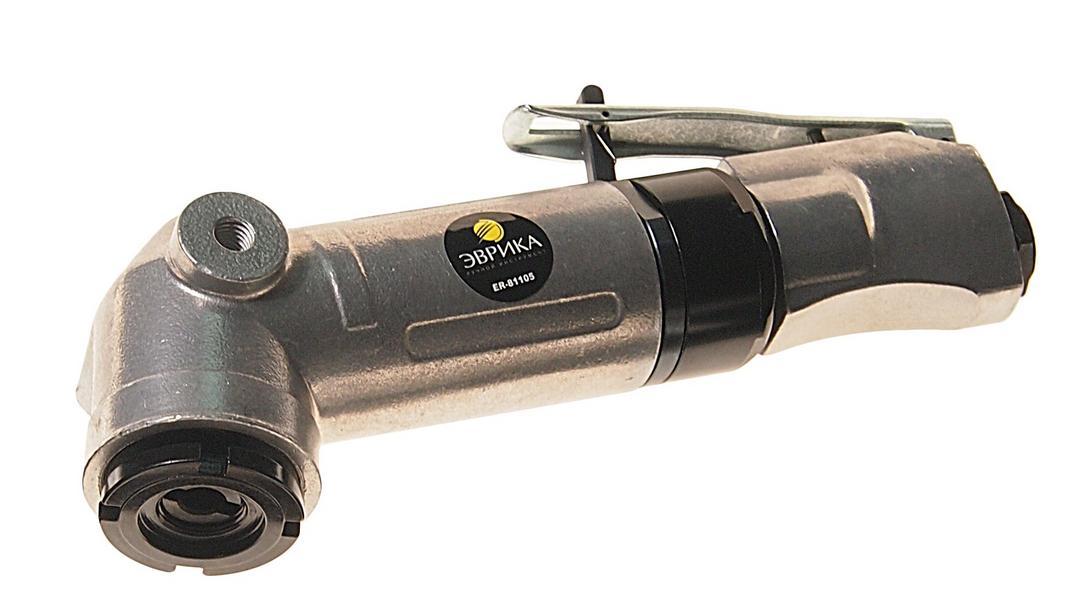 Машина углошлифовальная пневматическая ЭВРИКА Er-81105