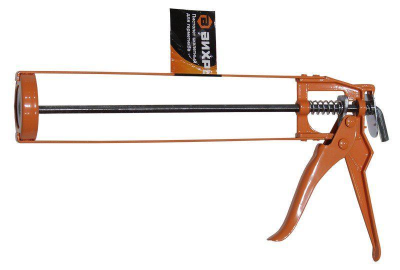 Пистолет для герметика ВИХРЬ 73/3/6/1 степлер мебельный вихрь 73 9 3 1