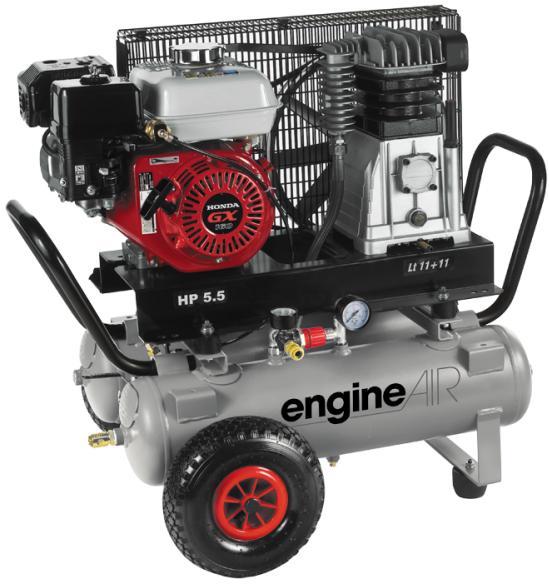 Компрессор Abac A39b/11+11 5hp engineair бензиновый компрессор abac engineair b4900 270 7hp