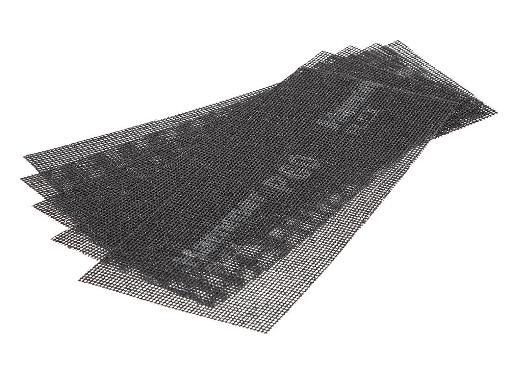 Абразивная сетка HAMMER 242-002, 115х280мм, P60 (5 шт.)