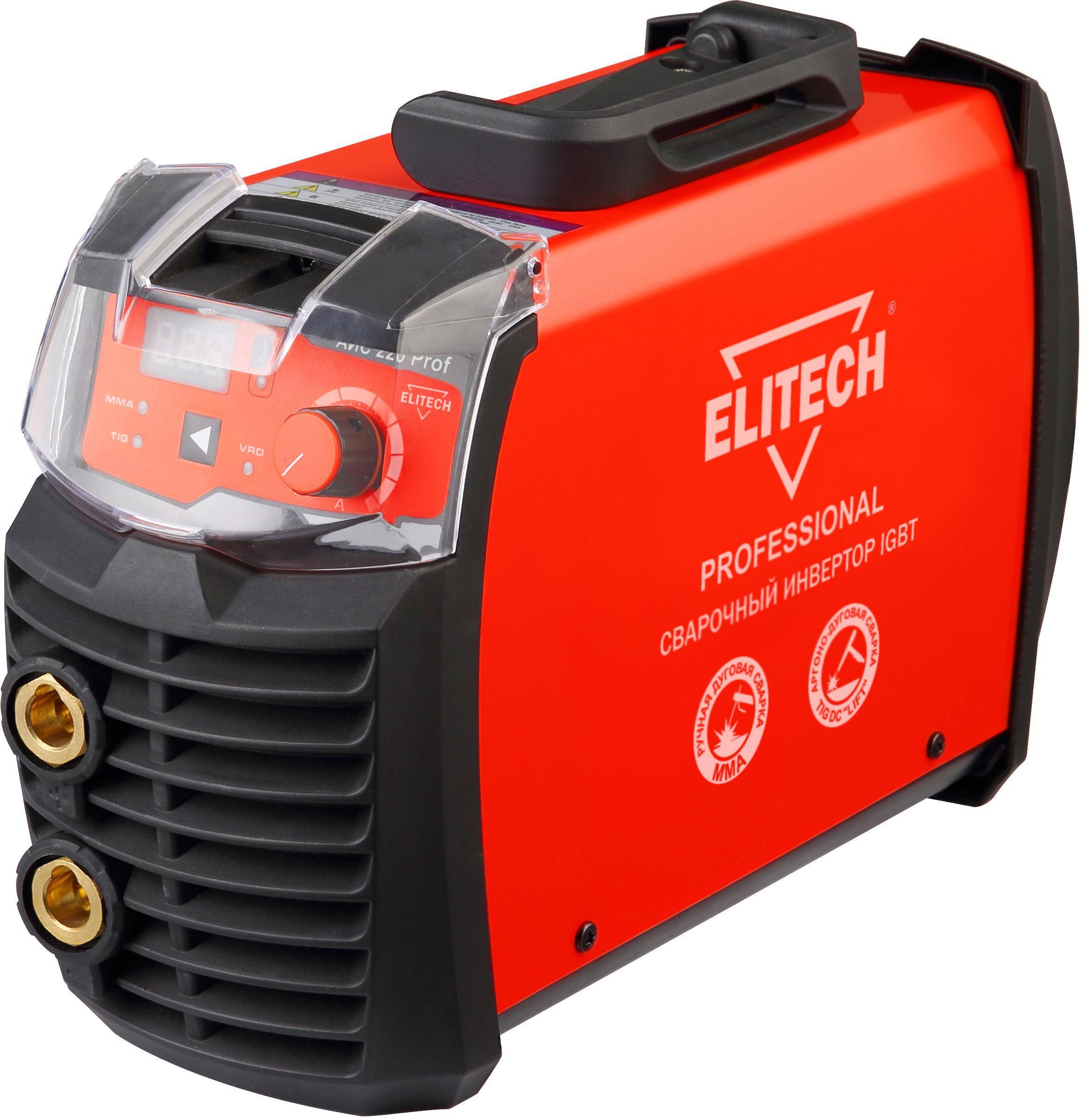 Инвертор Elitech АИС 220prof (185833) elitech аис 140 са