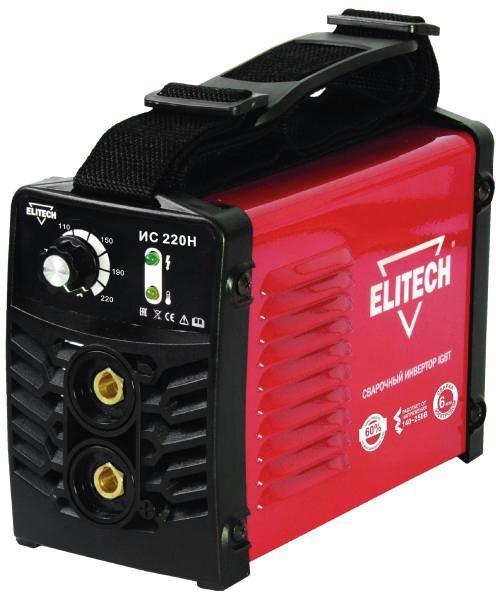 Инвертор Elitech ИС 220Н (184707)