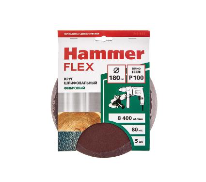 Круг фибровый HAMMER 243-022