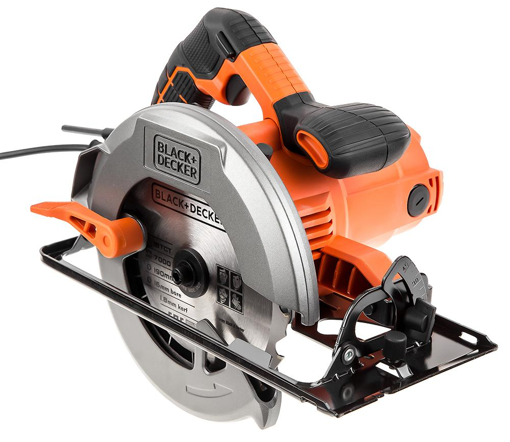 Пила циркулярная Black & decker Cs1550-qs