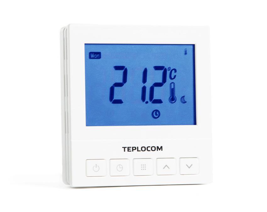 лучшая цена Термостат Teplocom Ts-prog-220/3a