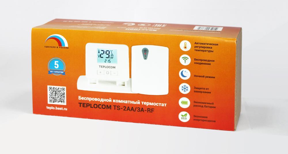 Купить Термостат Teplocom Ts-2aa/3a-rf