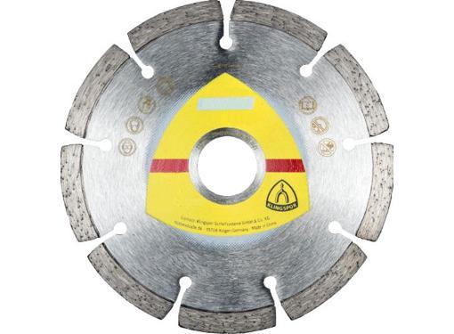 Круг алмазный KLINGSPOR DT 300 U EXTRA Ф180х22мм по бетону