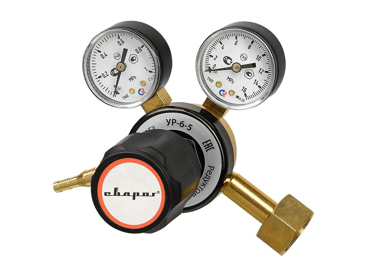 Редуктор СВАРОГ УР-6-5 (m66 co2) счетчик газа сгд 2 5 g2 5