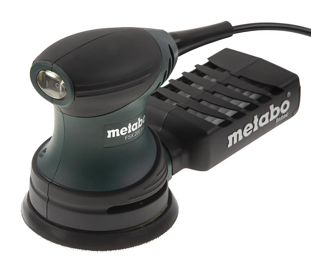 Орбитальная (эксцентриковая) шлифмашина Metabo Fsx 200 intec (609225500) машинка шлифовальная плоская вибрационная metabo fsr 200 intec 600066500